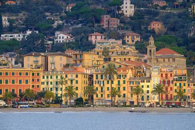 Santa Margherita Ligure Seen from the Harbour, Genova (Genoa), Liguria, Italy, Europe-Carlo Morucchio-Photographic Print