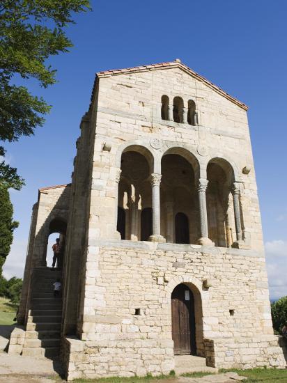 Santa Maria De Naranco, 9th Century Pre-Romanesque Style, Oviedo, Asturias-Christian Kober-Photographic Print