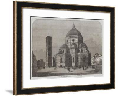 Santa Maria Del Fiore, the Cathedral of Florence--Framed Giclee Print