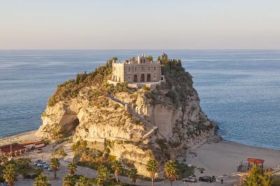 Santa Maria Del Isola Monastery, Tropea, Calabria-Peter Adams-Photographic Print