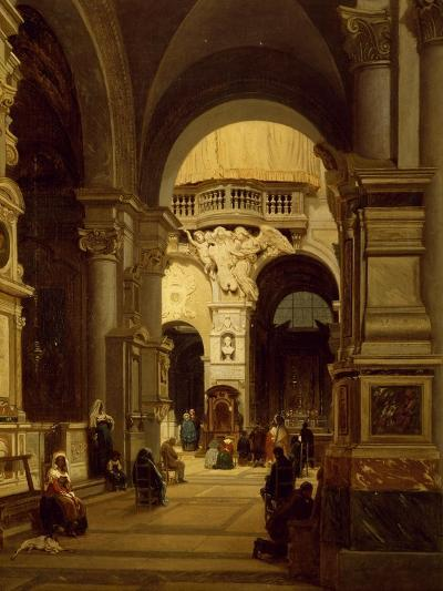 Santa Maria Del Popolo Church in Rome-Luigi Marchesi-Giclee Print