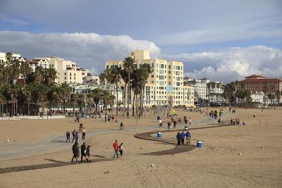 Santa Monica, Los Angeles, California, United States of America, North America-Wendy Connett-Photographic Print