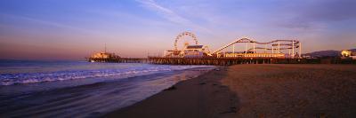 Santa Monica Pier, California, USA--Photographic Print