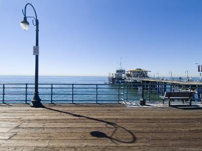 Santa Monica Pier, Santa Monica, California, USA-Ethel Davies-Photographic Print