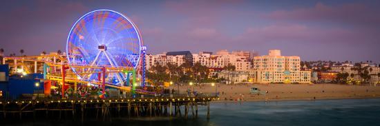 Santa Monica Pier-CelsoDiniz-Photographic Print