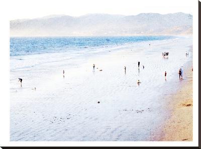 Santa Monica-Mina Teslaru-Stretched Canvas Print