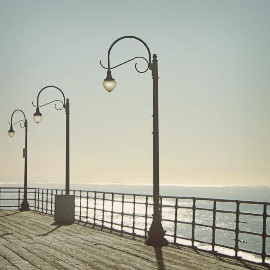 Santa Monica-Linda Woods-Photographic Print