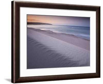 Santa Rosa Island, Channel Islands National Park, California: Evening on Becher's Bay Beach.-Ian Shive-Framed Photographic Print