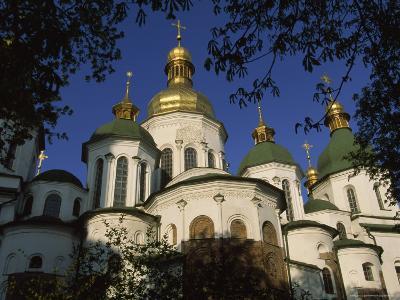 Santa Sophia Church Exterior, Kiev, Ukraine-James L^ Stanfield-Photographic Print