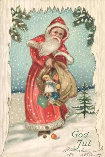 Santa-German School-Giclee Print