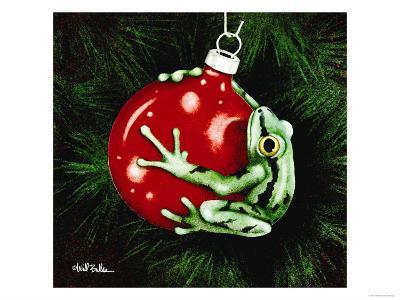 Santas Hopper-Will Bullas-Premium Giclee Print