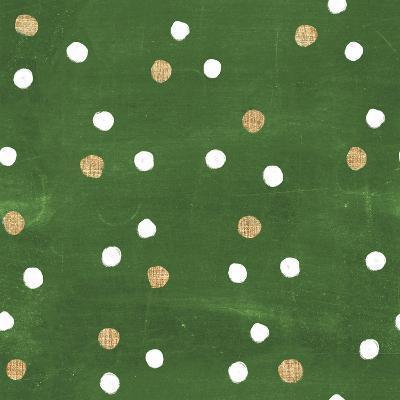 Santas List Pattern IV-Janelle Penner-Art Print