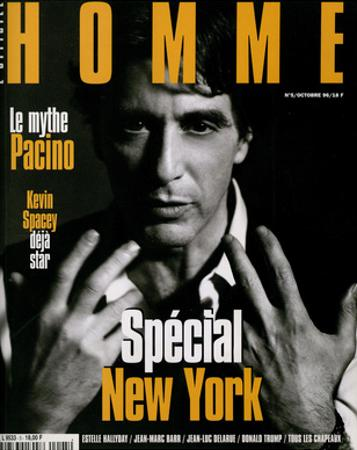 L'Optimum, October 1996 - Al Pacino
