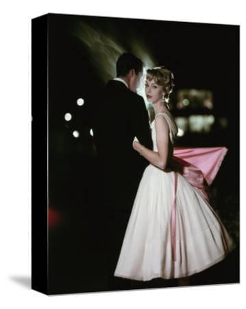 Glamour - October 1957 - Stylish Young Couple at Night