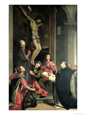 St. Thomas in Prayer