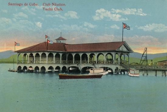 'Santiago de Cuba. Club Nautico. Yacht Club',c1910-Unknown-Giclee Print