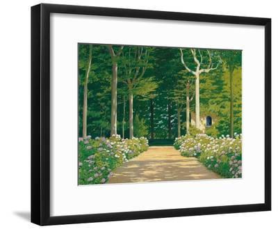 Hydrangeas on a Garden Path, 1929