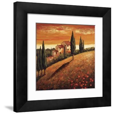 Sunset Over Tuscany I