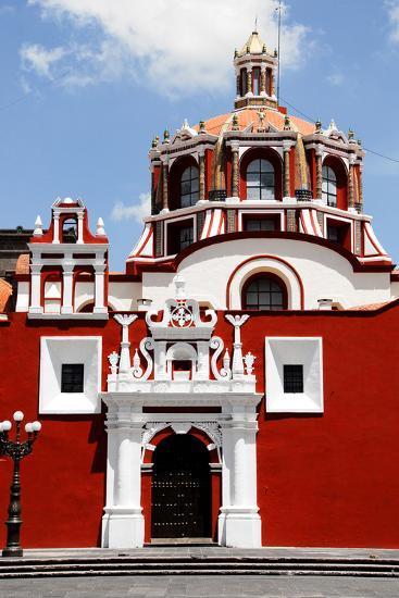 Santo Domingo Church, Puebla (Mexico)-Alberto Loyo-Photographic Print