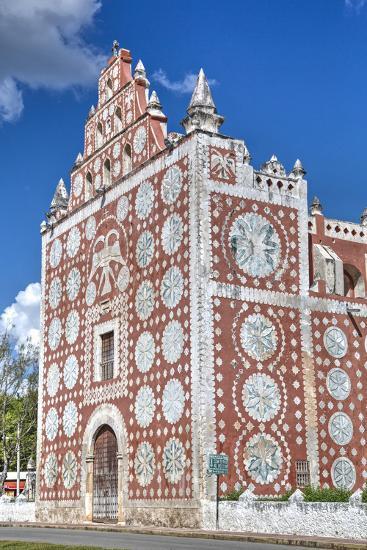 Santo Domingo De Guzman Church and Convent, Built in 1646, Uayma, Yucatan, Mexico, North America-Richard Maschmeyer-Photographic Print