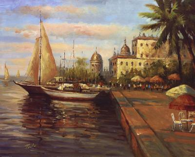 Santo Domingo Harbor--Art Print