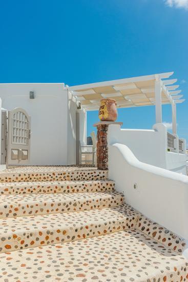 Santorini Greece-digitalpark-Photographic Print