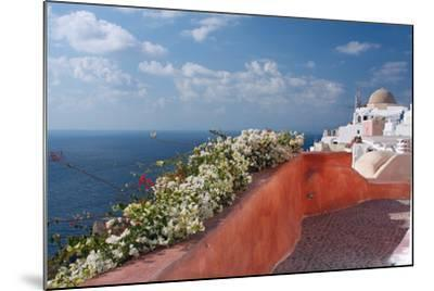Santorini, Greece-Dikti-Mounted Photographic Print