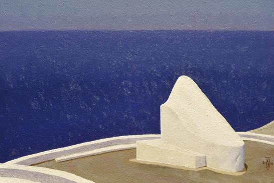 Santorini IIII, 2010-Trevor Neal-Giclee Print