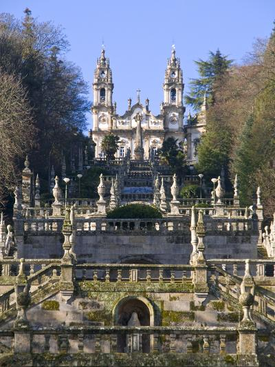 Santuario Nossa Senhora Dos Remedios, UNESCO World Heritage Site, Lamego, Portugal , Europe-Michael Runkel-Photographic Print