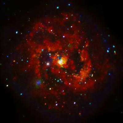 SAO: M83 Spiral Galaxy--Photographic Print