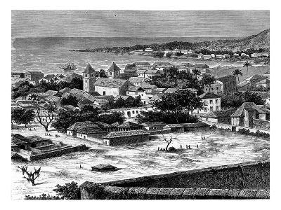 Sao Paulo, Luanda, Angola, 19th Century-Alexandre De Bar-Giclee Print