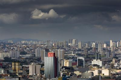 Sao Paulo Skyline, Brazil.-Jon Hicks-Photographic Print