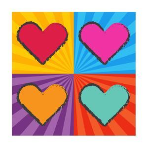 Pop Art Heart by sapannpix