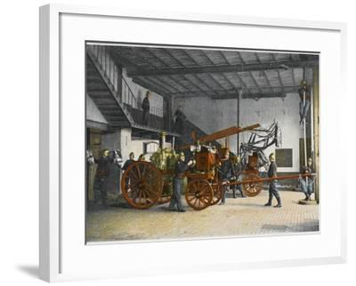 Sapeurs-Pompiers--Framed Photographic Print