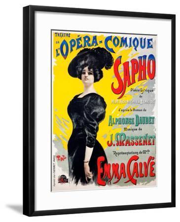 Sapho opera--Framed Giclee Print