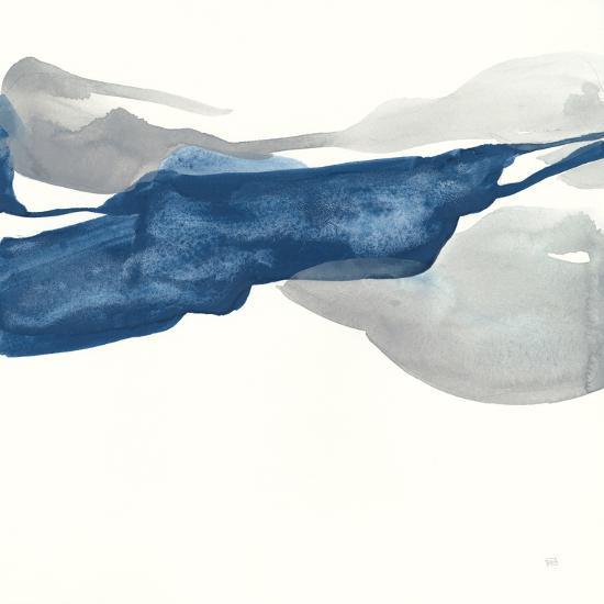 Sapphire and Gray III-Chris Paschke-Art Print
