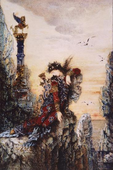 Sapphire, by Gustave Moreau (1826-1898)--Giclee Print