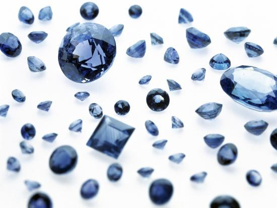 Sapphire Gemstones-Lawrence Lawry-Photographic Print