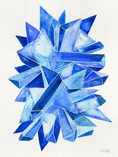 Sapphire-Cat Coquillette-Giclee Print