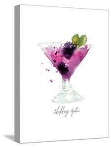 Blackberry Martini by Sara Berrenson
