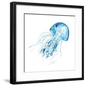 Blue Jellyfish by Sara Berrenson