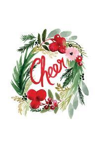 Cheer Wreath by Sara Berrenson
