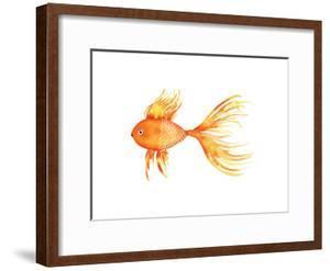 Deep Sea Yellow Fish by Sara Berrenson