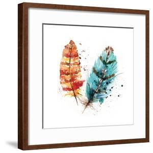 Feathers II by Sara Berrenson