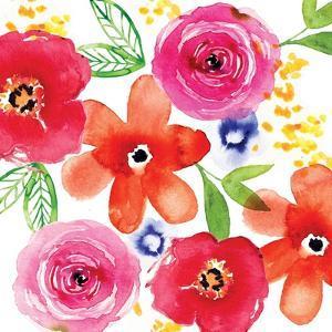Floral Medley I by Sara Berrenson