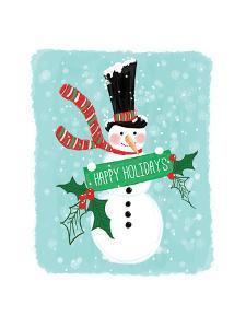 Holiday Snowman by Sara Berrenson