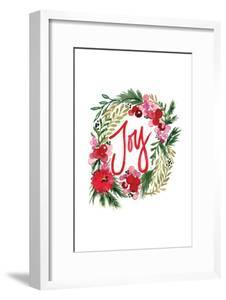 Joy Wreath by Sara Berrenson