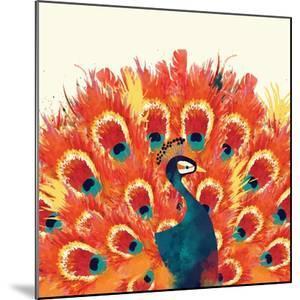 Peacock II by Sara Berrenson