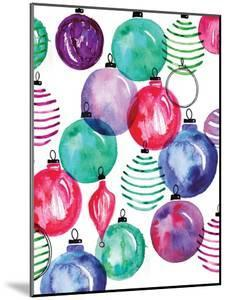 Watercolor Ornaments by Sara Berrenson