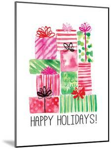 Watercolor Presents by Sara Berrenson